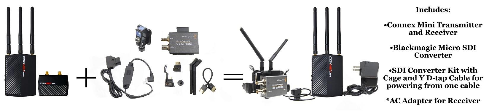 Connex Mini Accessory Pack