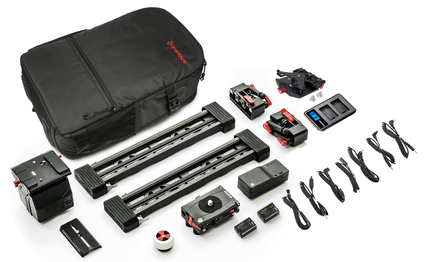 Shark Mini Complete Kit 2 with L-plate, additional shutter cables and